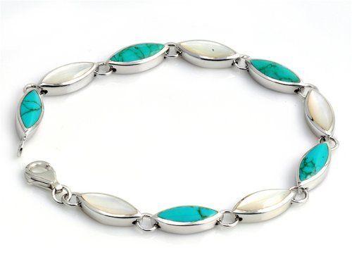 """Silver Stone Bracelet, Size: 7"""" Toggle Clasp Bracelets - Silver. $126.54. Size: 7"""". Silver Stone. Toggle Clasp"""