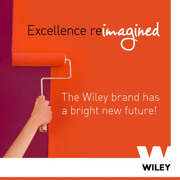 The Wiley brand has a bright new future!