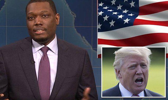 SNL's Michael Che calls President Trump 'cheap cracker' | Daily Mail Online
