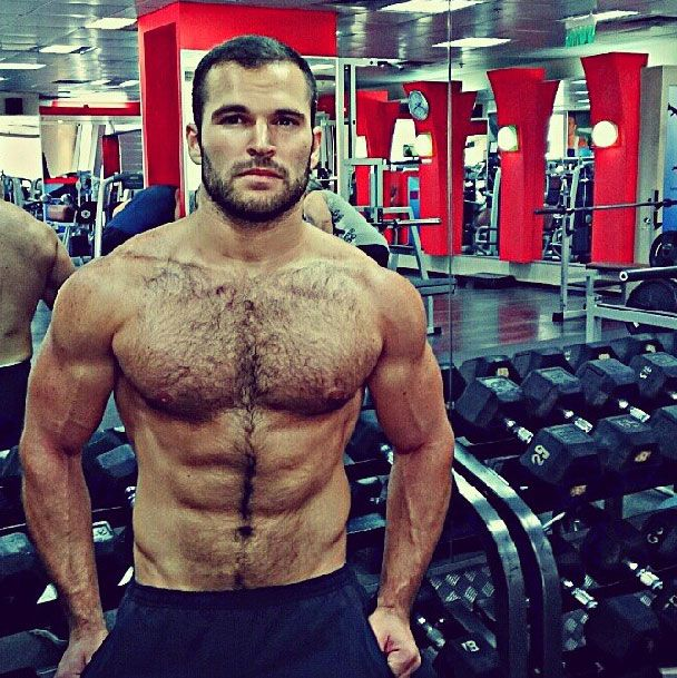 fitness hairy