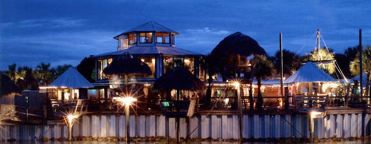 Conch House Marina Resort, St. Augustine. Ask for Tiki Hut and watch the dolphins swim