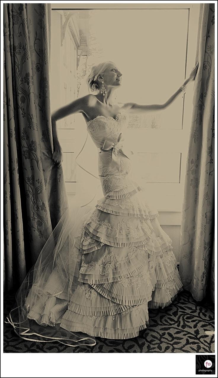 Me in my dress!