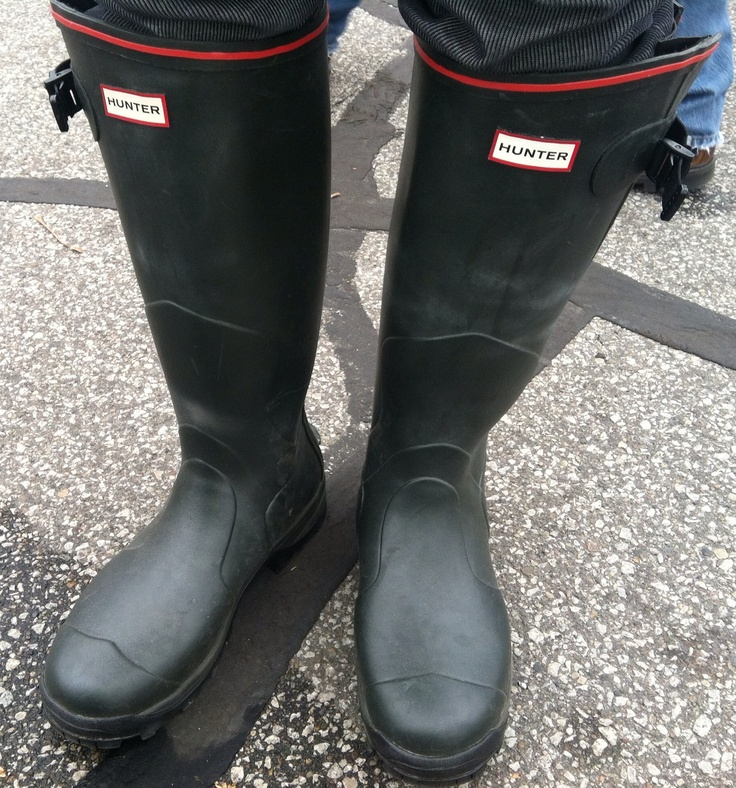 Men's Hunter Boots - very manly!