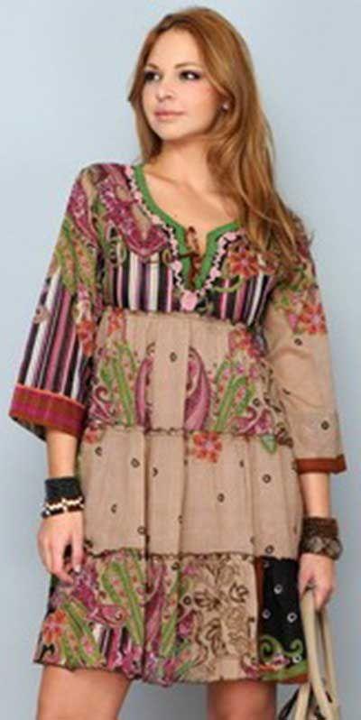 e4d3edf7c2 Modelos de Vestidos Indianos Curtos e Longos  Fotos e Dicas ...