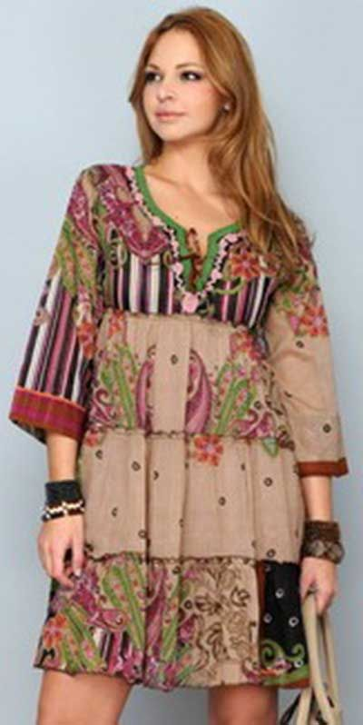 3b5d19998 Modelos de Vestidos Indianos Curtos e Longos: Fotos e Dicas ...