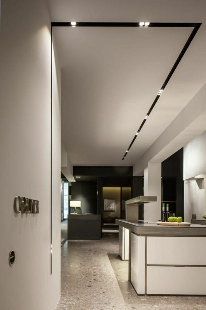 17 meilleures id es propos de led plafond sur pinterest luminaire plafond eclairage led. Black Bedroom Furniture Sets. Home Design Ideas
