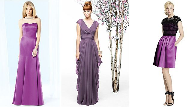 17 Best ideas about Orchid Bridesmaid Gowns on Pinterest | Orchid