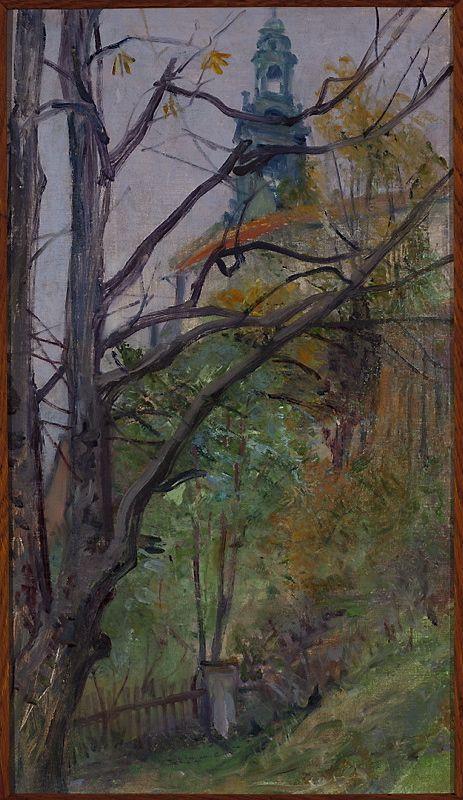 Widok na Wawel, Stanisław Wyspiański