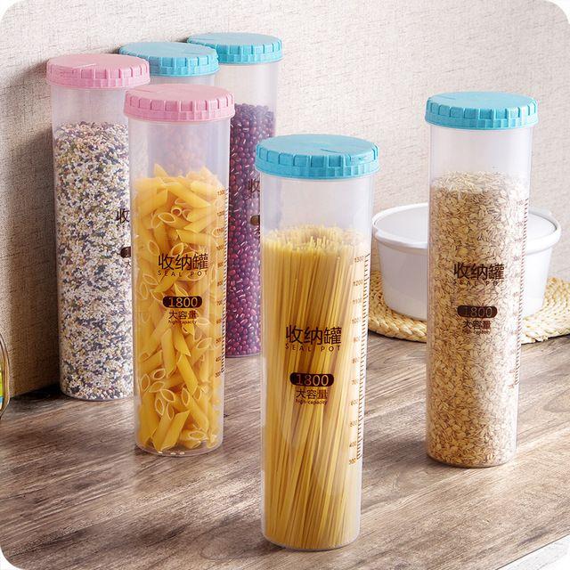 Multi-Función de la Caja De Almacenamiento Caja de Sello Pasta Fideos vajilla Palillos tenedor cuchara herramienta de la cocina Organizador De Almacenamiento caja de almacenamiento