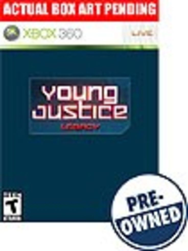 Young Justice: Legacy — PRE-Owned - Xbox 360