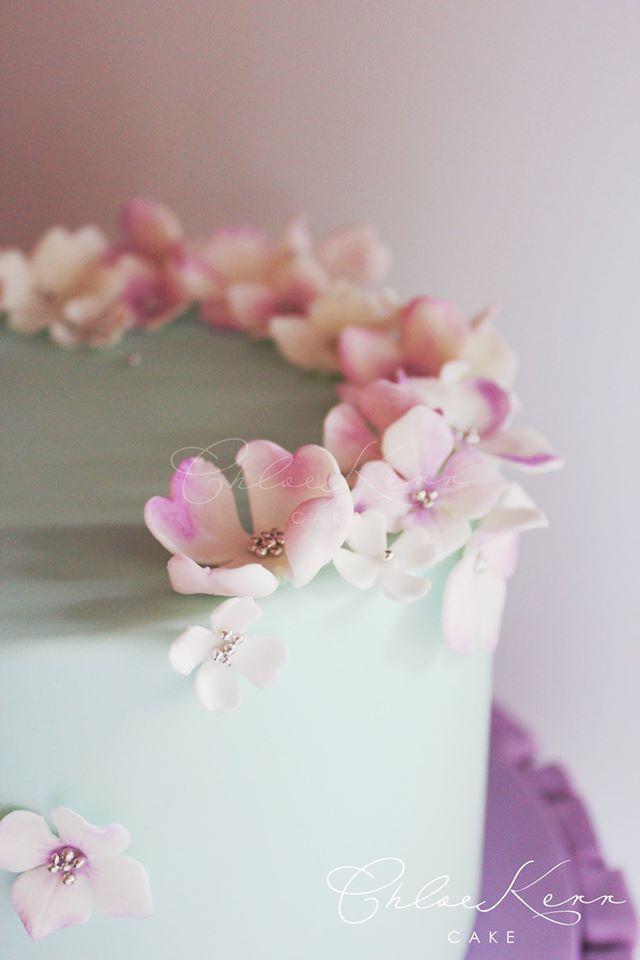 Chloe Kerr Cake Australia   Hand crafted sugar flowers
