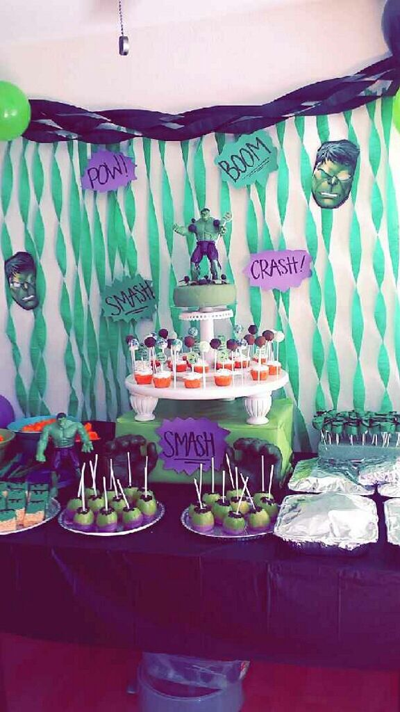 The Incredible Hulk party