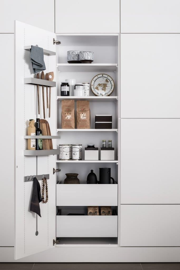 SieMatic INSIDE For Tall, Wall, And Base Cabinets: Very Accommodating U2013  Ideal For Heavy Objects: High Capacity Drawers And