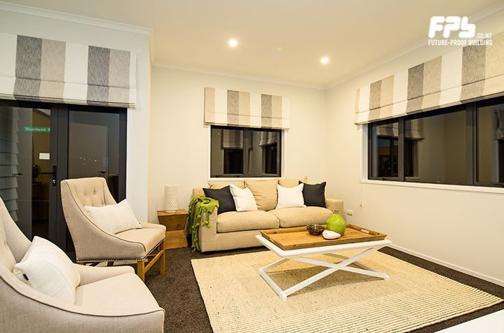 Living Room. Come visit the showhome at Lot 9 - 2 Tuatini Place , Long Bay , Long Bay, Auckland Hours: Wednesday - Sunday 12pm - 4pm