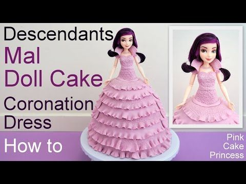 Compilation of Disney Princess doll cakes & Shopkins doll cakes. See how to make Frozen Elsa doll cake, Beauty & the Beast Belle doll cake, Cinderella doll c...
