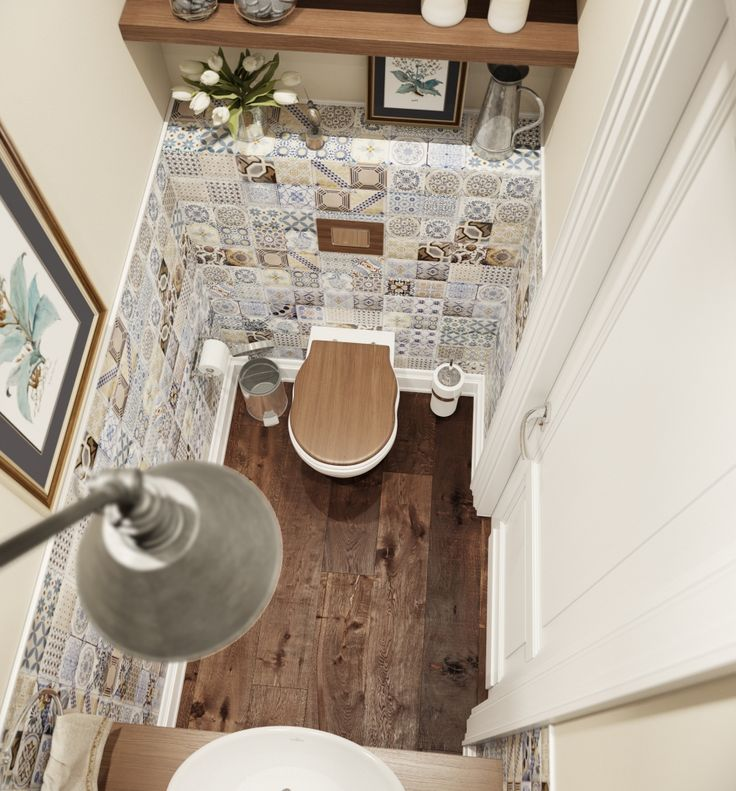 41 способ оформить маленький санузел в квартире - фото смотри!