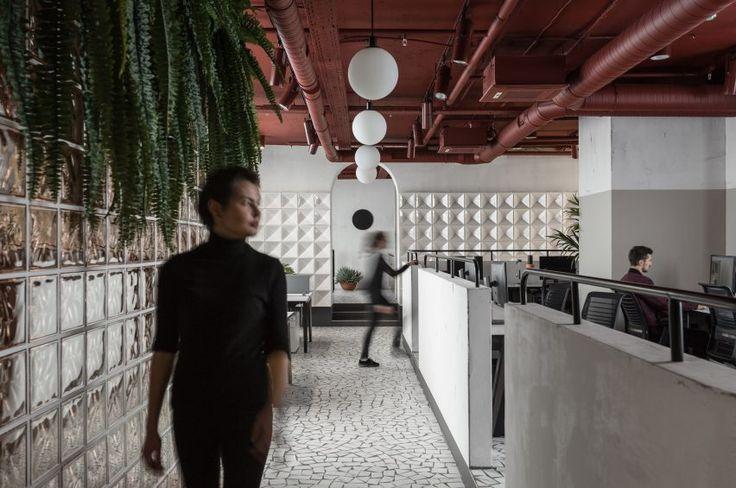 Studio11 reinterprets Soviet-era architecture for gaming company offices in Minsk
