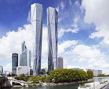 Tours jumelles à La Défense : accord des voisins pour les travaux