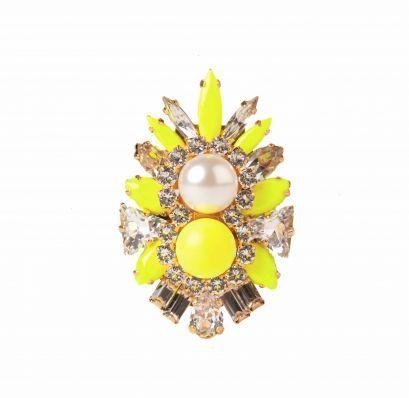 Lady Ring Neon Yellow
