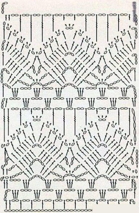 Patterns to crochet dress ???? Rainunda Lima ☺