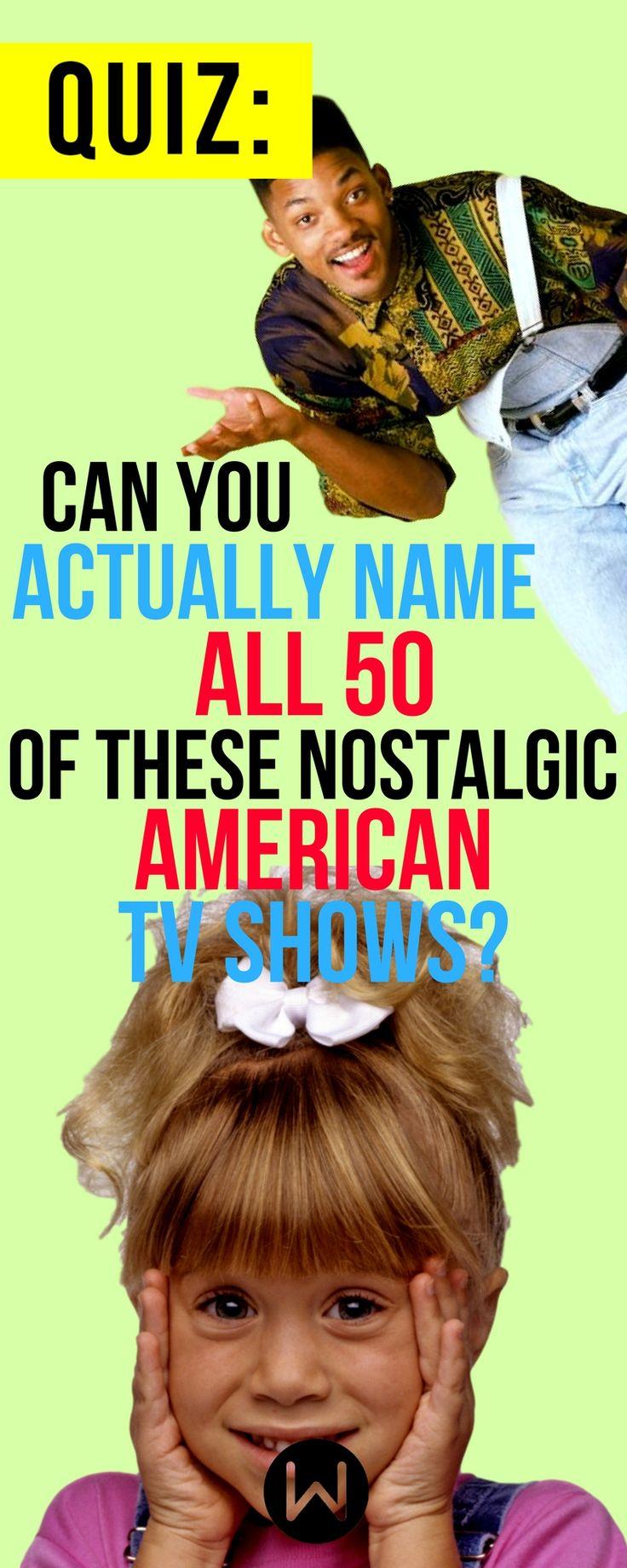 Quiz: You name these Nostalgic American TV Shows? TV Show Quiz, Tv Show Trivia, Sitcoms Quiz, Buzzfeed Quizzes, Playbuzz Quiz