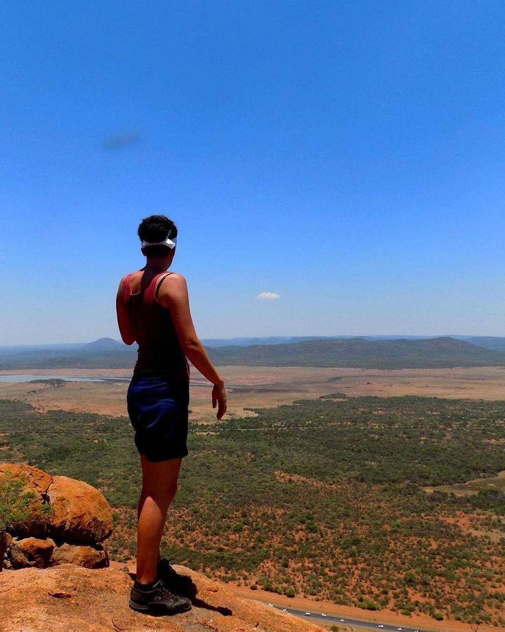 Did you know? In #Botswana you will find #KgaleHill which in #Setswana translates to 'The Place That Dried Up'. It's also nicknamed 'The Sleeping Giant' and stands 4222 ft above sea level overlooking the capital #Gaborone.  Pictured: @ics_uk volunteer @relgy25  #TheAfricaTheMediaNeverShowsYou by skillshareint