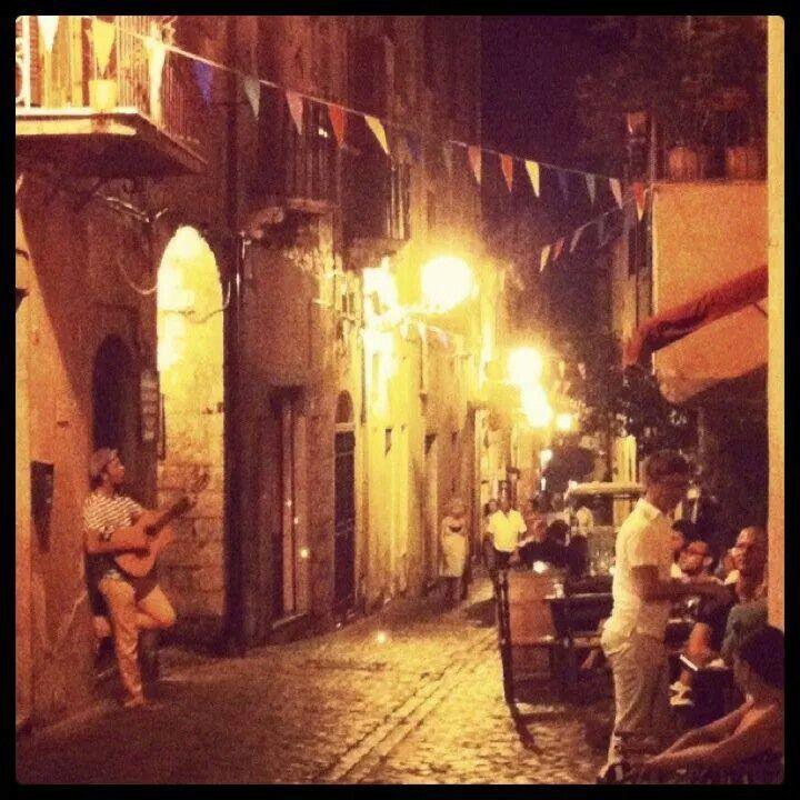 Terracina by night