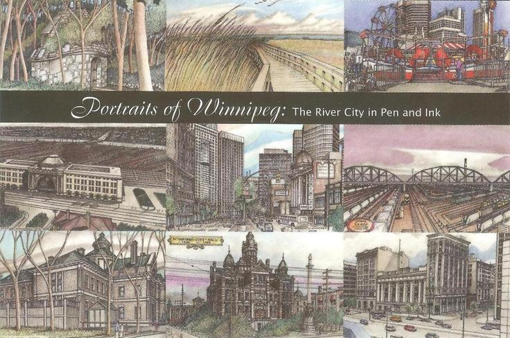 PK0736. Portraits of Winnipeg. Canada.