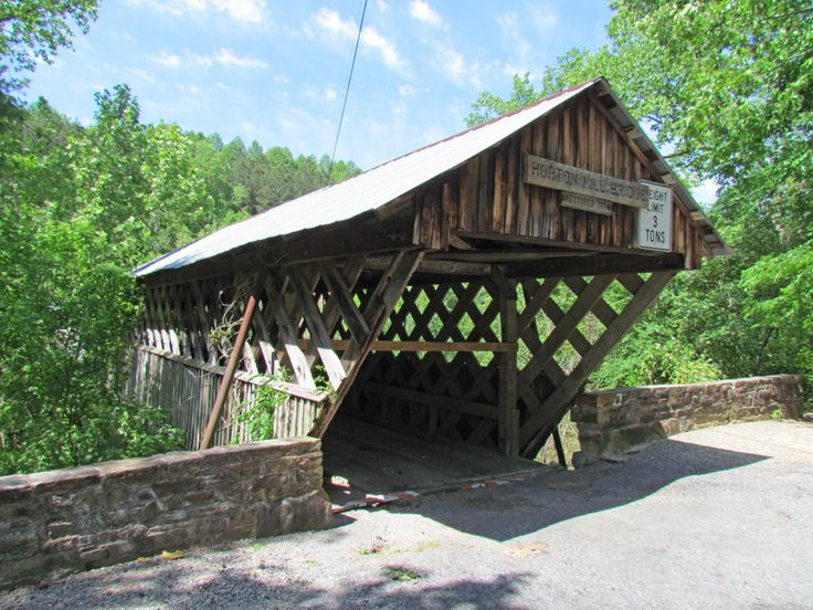 Covered Bridges in the State of Alabama  -  Travel Photos by Galen R Frysinger, Sheboygan, Wisconsin