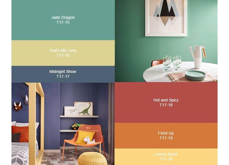 A marca de tintas americana escolheu 20 cores que serão a sensação do décor no próximo ano, divididas entre três paletas de cores nomeadas de acorco com sentimentos