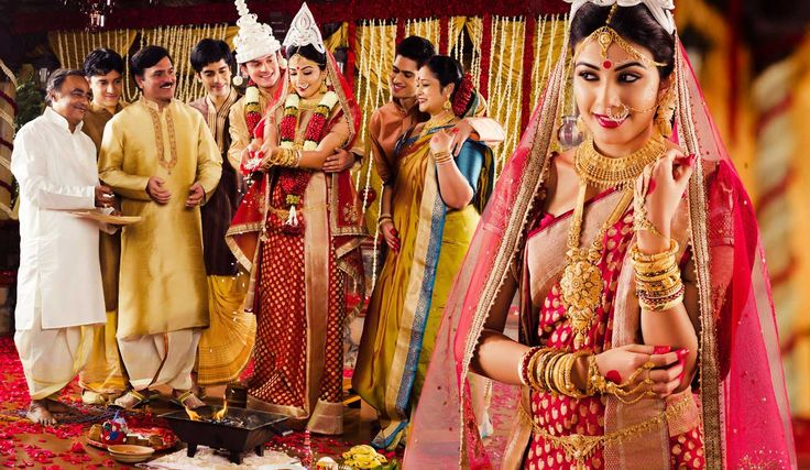 bengali wedding..I know it's not south indian...but Bengali weddings are so gorgeous!