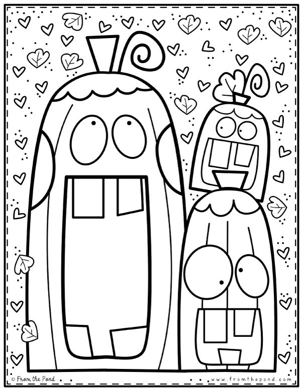 Pumpkin Coloring Page In 2020 Halloween Coloring Pages Halloween Coloring Pumpkin Coloring Pages