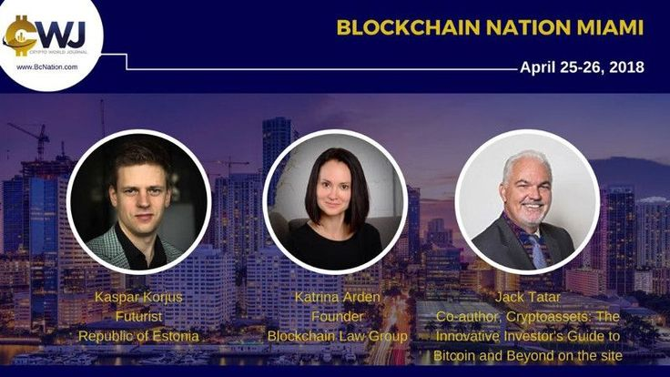 Blockchain Nation coming to Miami, Florida, on April 25 – 26 http://mybtccoin.com/blockchain-nation-miami-florida-conference-april-2018/