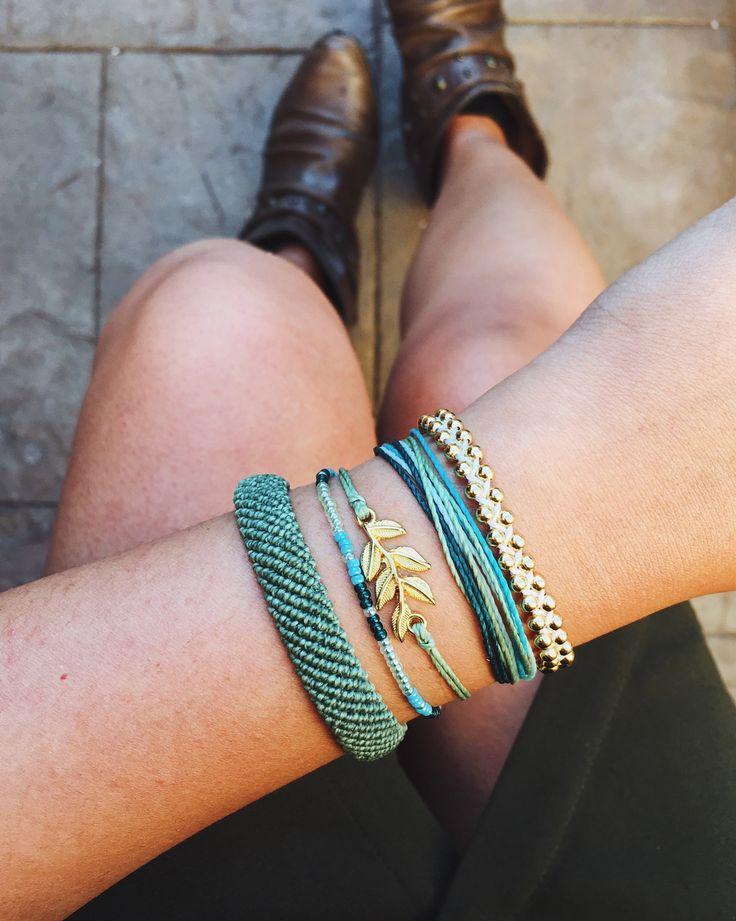 How do you style your monthly club bracelets? x @JasminManzano