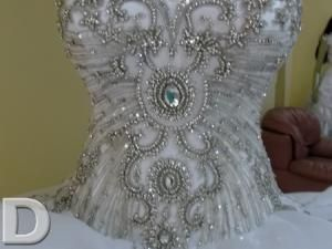 Luxury Gypsy Wedding Dress