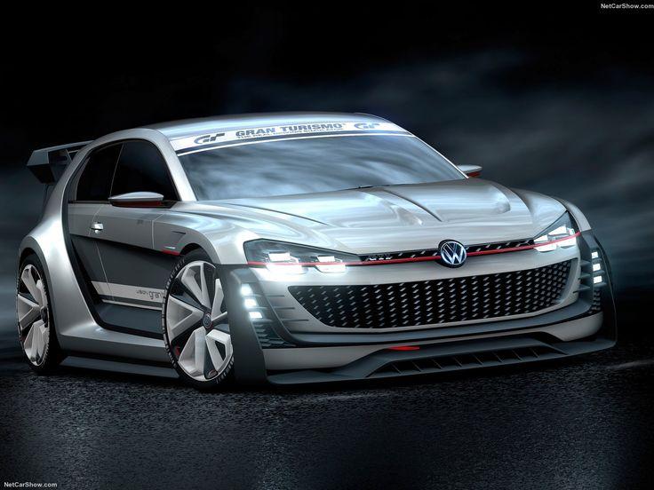 volkswagen gti supersport vision gran turismo concept 2015 1600x1200