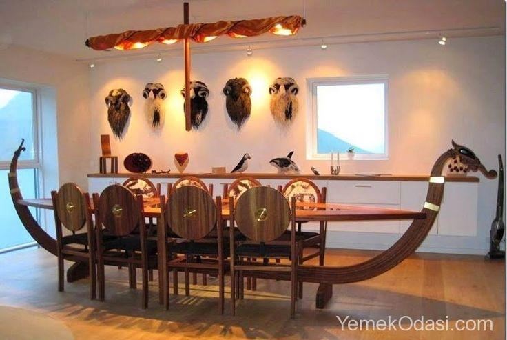 Korsan Stil Yemek Odaları Hafta sonu yaptığımız Eskişehir gezisi bizlere farklı ve sıra dışı yemek odası stilleri hakkında ilham verdi. Korsan stil yemek odası çiftlik evleri hatta normal daireler için de düşünülebilir. Sizler için derlediğimiz yurt dışında da örnekleri bulunan korsan stil yemek odası modellerine hep bir ... http://www.yemekodasi.com/korsan-stil-yemek-odalari/  #FarklıTarzdaYemekOdaları, #FarklıYemekOdasıTasarımları, #Orji
