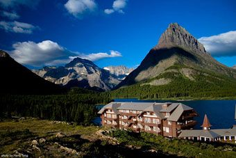 Many Glacier Hotel. Road Trip to Montana with Carl July 2013.