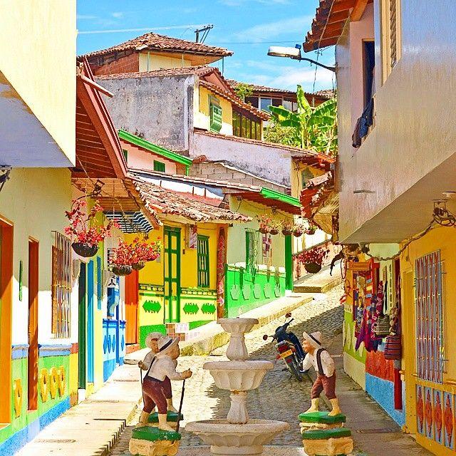 Guatape, Medilin, Colombia