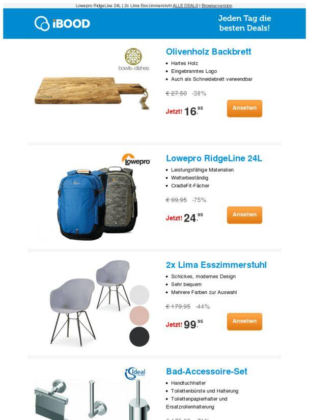Olivenholz Backbrett-38% |2x Lima Esszimmerstuhl-44% |Bad-Accessoire-Set-71%  ❙  #ComputerElektronik  - https://deal-held.de/olivenholz-backbrett-38-2x-lima-esszimmerstuhl-44-bad-accessoire-set-71/