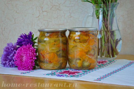 «Московский» салат  на зиму из овощей