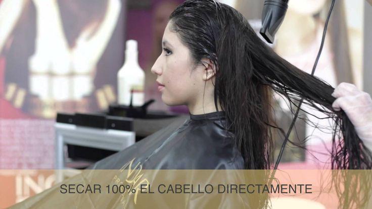 Modo de uso y resultados obtenidos. El tratamiento con el Inoar G-Hair está indicado para aquellas personas que tienen el cabello rizado, encrespado y lo qui...