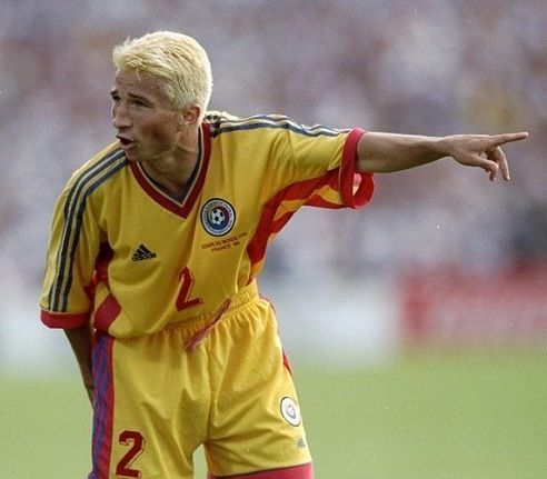 Dan Petrescu - Romania National Team
