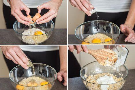 Knedlíky z ovesných vloček, vajíček a jogurtu jsou mnohem sytější a přitom zdravější než klasické houskové; Eva Malúšová