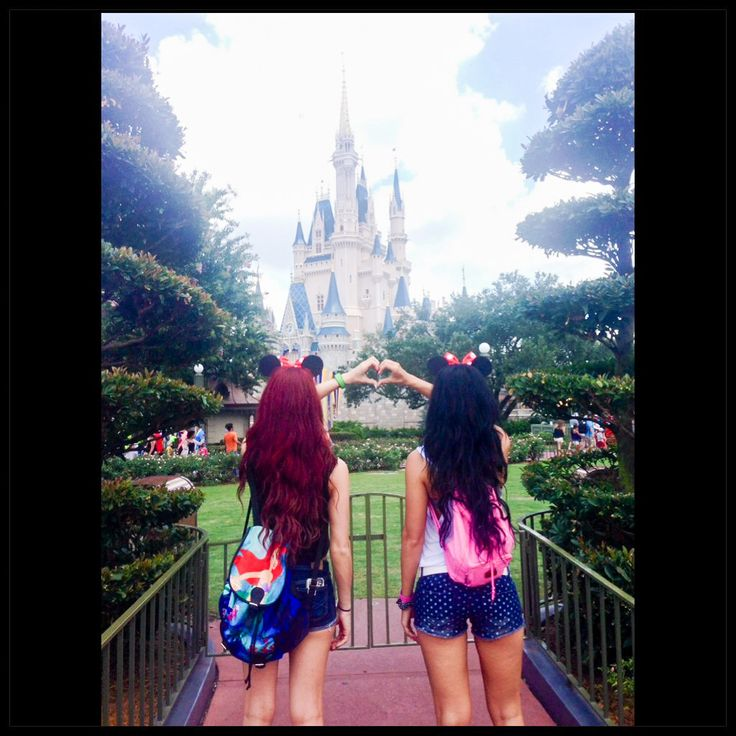 Bucket list: go to Disney World with your best friend. Check ✔️