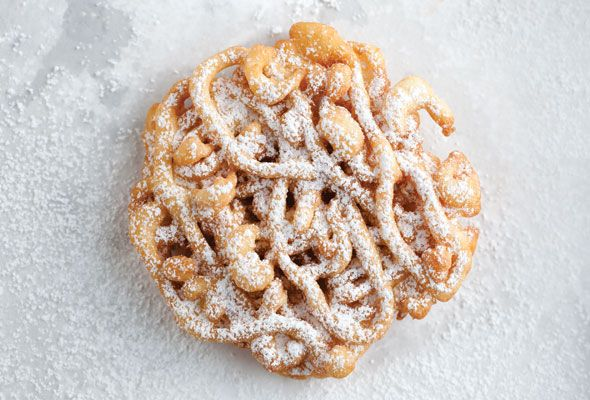 Remember how you'd beg your parents for funnel cakes as a kid during the state fair? Now you can have as many as you want.