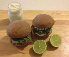 Recipe Thai Chicken Burgers by Thermo Sensation - Recipe of category Main dishes - meat