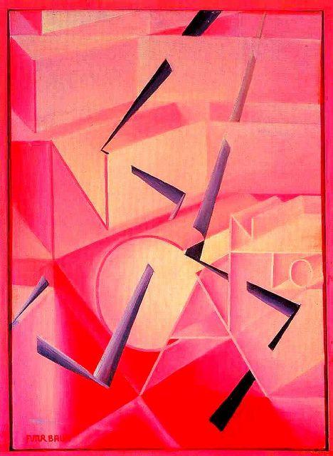 Balla, Giacomo (1871-1958) - The Spell is Broken by RasMarley, via Flickr
