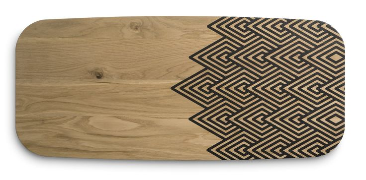 Mid century inspired furniture for modern living The Umuntu Oak tables done with a resin inlay pattern.