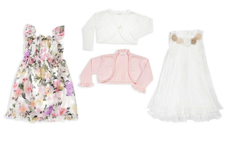 Chiffon little girl dress and organza and crepe dress!